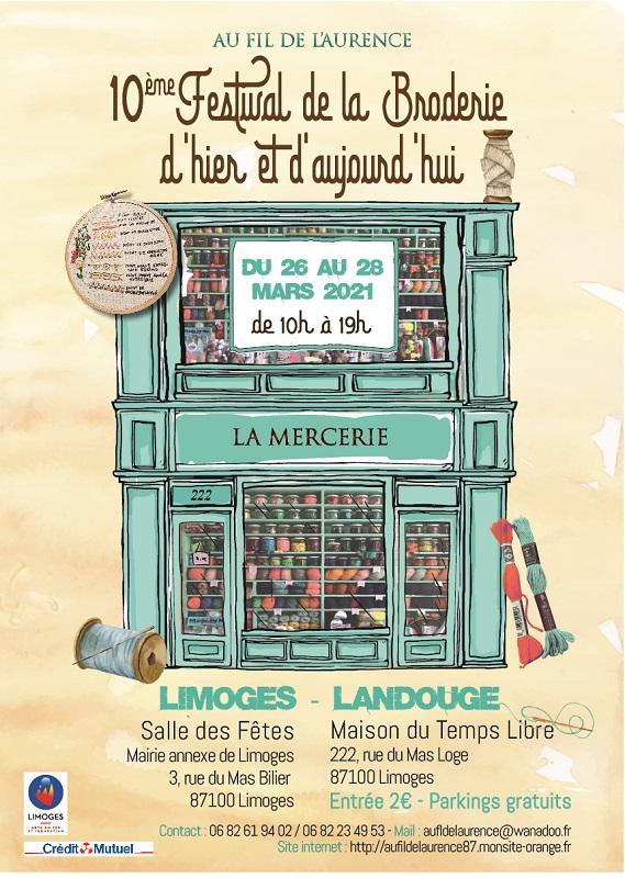 Festival Broderie LImoges